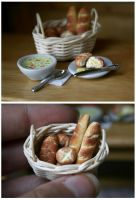 Bread and Soup by Zhoira