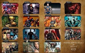 Marvel Comics Folder Icons 2 by 3o1415