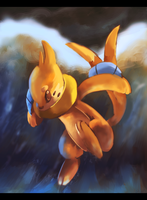 Buizel used Surf
