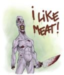 I like meat by Entropician