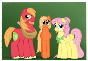 NG Family Portraits: FlutterMac Family by Faith-Wolff