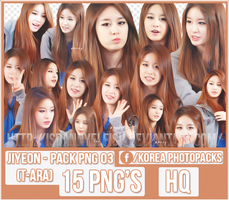 Jiyeon (T-ARA) - PACK PNG#03 by JeffvinyTwilight