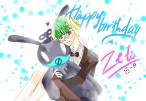 Happy birthday baby Zelo by Lucas-Bo
