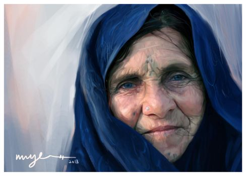 The Old Lady by myelim
