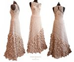 Dress Evora, Somnia Romantica by Marjolein Turin by SomniaRomantica