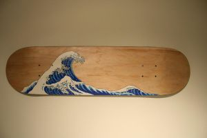 Wave on a skateboard by Sushibeats
