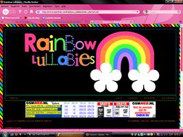 Rainbow Lullabies Logo by xSofticatious