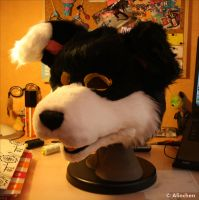 Fursuit Head  WIP 2 by Alinchen-Tenny