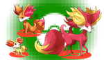 Fennekin's Evolutions by ToPpeRa-TPR
