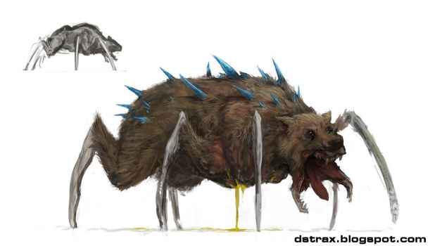 Monster spiderbear by DStraX