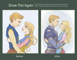 Draw again - Alistair and Anora by jancola
