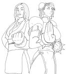 Lee And Li lines by the-Sleuth