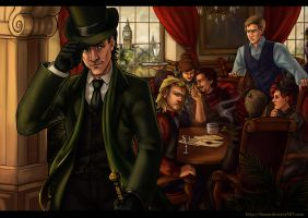 League of Avenging Gentlemen by Alassa