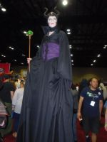 Megacon '14: Maleficent by NaturesRose
