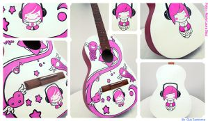 Guitar skin by Gus-Santome