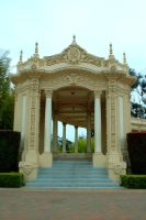 temple gazebo by StockStockStuff
