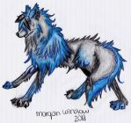 Blue Wolf by 3passw0rd3