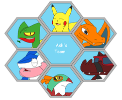 Ash's Team for a Future Fan Fiction Coming Soon by Karasu-96