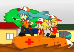 Vocaloid Goes To Rescue by irzhie