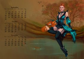 Aion autumn by Tashati
