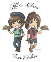 Jill and Claire Sandwiches by TotenPF