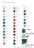 Swarovski Colour References by pixelstudios