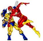 The Flash vs Wolverine by Toadman005