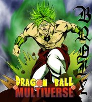 broly dragon ball multiverse by ChibiDamZ