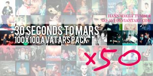 30STM :: x50 Avatars Pack by go-avi