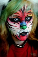 RAINBOW TIGER by CALLYKITTY