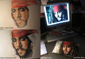 Jack Sparrow by MarsiankaAnnet