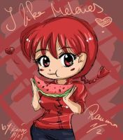 ranma loves melons by ka0rie