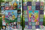 Everfree Northwest Charity Quilt 2015 by WhiteHeather