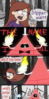 What if Bill it's actually Dipper? by MaryTR