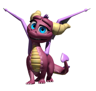 WIP - HQH Spyro Model: Classic Ember by FaithSDK