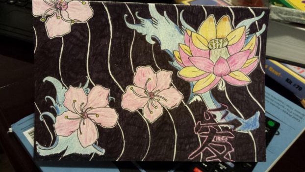 Japanese art by Flames3531