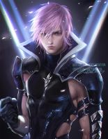 Male Lightning by sakimichan