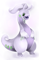 Goodra by FancyPancakes