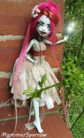 Forest Faerie Frankie Monster High Doll by mortimersparrow