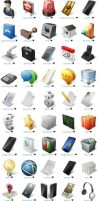 Ecommerce and Business Icon Set by FreeIconsFinder
