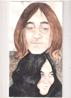John and Yoko by bizdikbirt