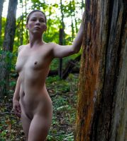 Babe in the woods by Craigmac1000