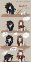 Breakfast With Madara by kaseyu
