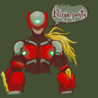 Zero cyber ninja who doodle what by P-Flute