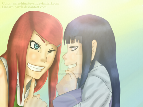 Tehee, so...you are Naruto's girlfriend uh? xD by Naru-Hina4ever