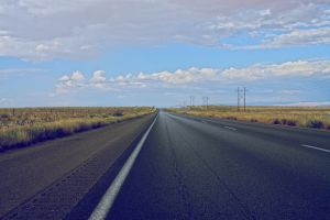 Endless road by f-barros