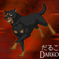 Darko in Ginga style by faithandfreedom