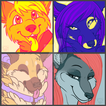 Colour Palette-Icons [Comm] by Nerventee