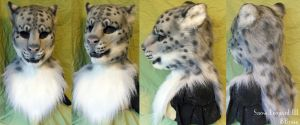 Snow Leopard III by Magpieb0nes