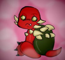 baby dark raph by WolffangComics